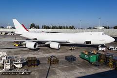 N859GT (Hector Rivera - Puerto Rico Spotter) Tags: airport miami air cargo u mia western atlas boeing intercontinental kmia 7478f n859gt