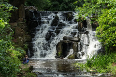 Virginia Water Cascade (Graham Dash) Tags: virginiawater virginiawatercascade surrey cascades water photographers waterfalls 2016pad