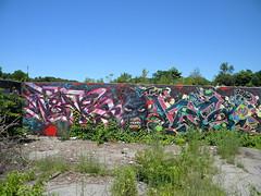 Twa Mural (Randall 667) Tags: street urban building art abandoned uw island graffiti artwork mural artist massachusetts exploring nerve vase writer rhode twa wiz tagger 2016 had2