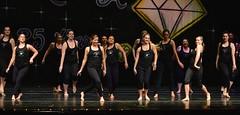 The alumni sass it up... (R.A. Killmer) Tags: black smile dance women anniversary sassy stage daughter performance recital dancer 25 skill danceworkshopbyshari