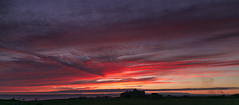 Rest Bay fire sky (Tim Bow Photography) Tags: timbowphotography timboss81 welsh british sunset wales porthcawl sunsetcolours sunsetcolour clouds red orange landscape resthomeporthcawl