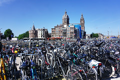 Amsterdam, Holland (Flapweb) Tags: street holland netherlands amsterdam sony bikes a6000 alpha6000 ilce6000