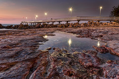 When the Night Comes Falling  DSC_9720 (BlueberryAsh) Tags: jetty pier ocean seascape sunset rocks rockpool nightcliff nightcliffjetty darwin australia australianforeshore nightscape cloudsstormssunsetssunrises nikond750 nikon24120