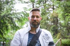 Ich / Me (DanielHiller) Tags: ich me selfie selbstportrait portrait selfportrait mann man herr mr wald wood forest bart beard jacke undercut deutschland germany suhl thringer nikon d3100