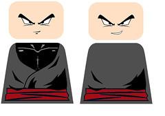 lego black goku decal (teamfourstud) Tags: custom decals lego indoor super z ball dragon dbs dbsuper dbz illustration cartoon white background black goku