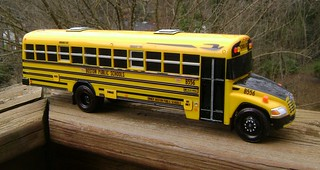 Boston Public School Bus - Massachusetts BLUE BIRD BUS