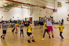 Girls Basketball Game Double Header GRPS Montessori Union High March 07, 2015 3 (stevendepolo) Tags: girls game basketball youth high union grand rapids montessori grps