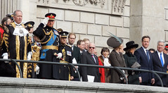 The Salute (roger.w800) Tags: greatbritain afghanistan london ceremony stpauls stpaulscathedral royalty cityoflondon dignitaries britishroyalty campbastion britishmilitary britishprimeminister britishpride britshpoliticians withdrawalfromcampbastion