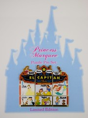 Princess Marquee Puzzle Pin Set - Cinderella Pin Trading Event - Pins on Replica of Puzzle Card - Wide View (drj1828) Tags: pin princess disney cinderella limitededition disneypintrading le400 disneystudiostorehollywood pintradingevent