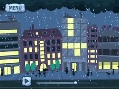 Where Does Rain Come From (DardaneleStudio) Tags: street city people cloud game cute dogs rain kids illustration studio design funny child play earth character einstein experiment science laboratory animation physics lightning thunder app scientist spyglass forkids characterdesign dardanele flashillustrations dardanelestudio