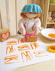 Olha que lindo que ficou! (Ateliê Bonifrati) Tags: cute diy craft stamp tutorial pap stampcraft carimbo passoapasso bonifrati