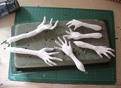 Witchy Hands (Nightshade Dolls) Tags: art doll witch vampire spooky