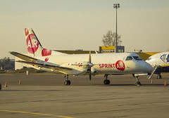 SP-KPZ (Renatas Repčinskas Photo) Tags: plane airport air cargo sprint saab lithuania kun 340 kaunas planespotting sf340 eyka spkpz