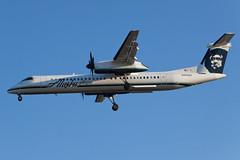 Alaska Airlines (Horizon Air) Bombardier Dash-8 Q400 N442QX (jbp274) Tags: airport horizon airplanes lax dash8 qx alaskaairlines bombardier q400 klax horizonair