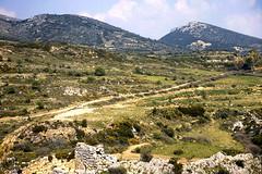 Grce, vacances de Pques 1987. Mycnes (Marie-Hlne Cingal) Tags: 1987 greece grce  hells  diaponumrise