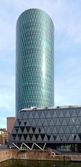 Der Westhafen - Tower (JohannFFM) Tags: tower frankfurt main westhafen bembel geripptes