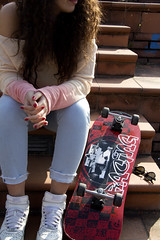 Skate (elena.bencini) Tags: girl fashion outdoors photography photo florence sunny clothes skate skater approvato
