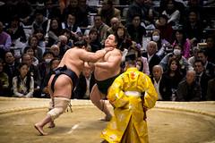 Sumo in Osaka-35 (Rodrigo Ramirez Photography) Tags: japan amazing traditional professional tournament osaka sumo yokozuna ozeki makuuchi hakuho sumotori sumotournament maegashira reikishi harumafuji topdivision