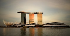 Marina Bay Sands Intergrated Resort (josephteh) Tags: building tower marina canon shopping hotel singapore casino resort lv skydeck skyview marinabay 600d marinabaysands