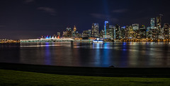 Vancouver Lights (bastinaaron) Tags: city vancouver downtown stanleypark