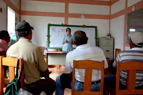 Building a participatory Index Insurance scheme in Honduras