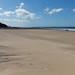 Praia com grande variação da maré