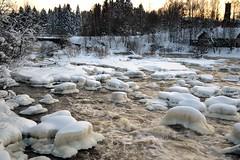 Rapid Vantaankoski in River Vantaanjoki (Vantaa, 20120128) (RainoL) Tags: finland river geotagged vantaanjoki january u vanda fin rapid vantaa 2012 uusimaa 201201 20120128 geo:lat=6029455700 geo:lon=2486585300