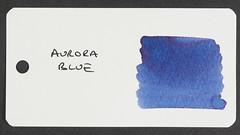 Aurora Blue - Word Card