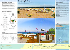 Searching Nature_URIBE&ROSSO [Uribe+Rosso] Germany (rethinkingcompetitions) Tags: sea architecture project arquitectura surfer competition exhibition housing concurso temporary winners tarifa proyectos exposicin surferos temporales proposals ganadores propuestas rethinking alojamientos rehtinking