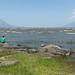 Mi e Roy no Lago Nicarágua