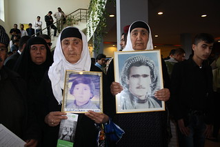 Anfal Survivors Show Pictures Loved Ones Lost