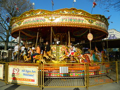 Carousel (Rory Llowarch) Tags: uk england horses horse london sunshine fun spring roundabout sunny southbank merrygoround funfair springtime londonengland amusementride ldn