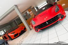 Ferrari F12berlinetta e Lamborghini Aventador LP700-4 (Andre.Silot) Tags: brazil italy horse cars car brasil italia sãopaulo ferrari bull exotic sp paulo rosso lamborghini são arancio rivals exotics combo avt f12 berlinetta worldcars aventador lp700 lp7004 brasilemimagens f12berlinetta