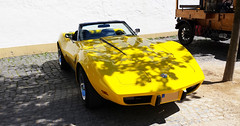 - 1975 Corvette C3 Stingray - (Jac Hardyy) Tags: auto old 3 eye classic cars chevrolet sports beautiful car yellow stingray antique c exotic gelb chevy 1975 oldtimer autos catcher corvette luxury luxus sportscar eyecatcher c3 sportwagen blickfang