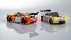 Porsche 911 GT Family (Velocites) Tags: speed lego 911 porsche gt champions moc rsr