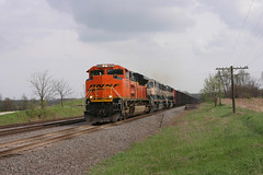 BNSF 9397 Pewaukee, WI (wisconsinrails) Tags: wisconsin bnsf pewaukee burlingtonnorthernsantafe duplainville