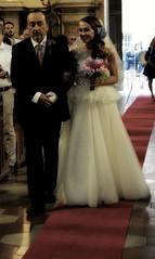 accompagnare ad una nuova avventura (me, paolo and the seven wonders + two) Tags: maya paolo chiesa bouquet padre matrimonio velo sposa abito figlia picmonkey
