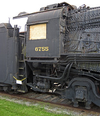 Pennsylvania Railroad # 6755 steam locomotive (M1b 4-8-2) 7