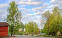 Ehnroosin koulu (MikeAncient) Tags: school finland geotagged spring hdr mntsl koulu kevt tonemapped tonemap 5exp ehnroosinkoulu