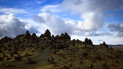 a volcanic land of myth and fairytales (lunaryuna) Tags: sky panorama beauty landscape iceland imagination lunaryuna cloudscape myth alves fairytales hraun lavafield southiceland volcaniclandscape naturaltextures