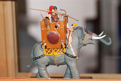 Elephant warrior (quinet) Tags: panorama germany flats 2012 jouets kulmbach spielwaren castleroad burgenstrase plassenburgcastle plassenburgzinnfigurenmuseum