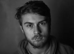 Test flash with Mamiya 645 (Tim Dobbs) Tags: portrait film mediumformat studio blackwhite flash fp4 mamiya645 filmphotography