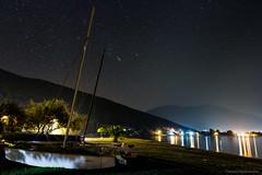 Like A Summer Night (Th.Papathanasiou) Tags: sky beach night canon stars greece astrophotography orion tamron evia almiropotamos