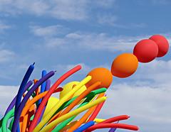 PrideFest Balloons (Colorado Sands) Tags: usa america balloons festive us colorado colorful denver parade celebration lgbt 2016 pridefest cheesmanpark gaycommunity happypride sandraleidholdt denverpridefest pridefest2016