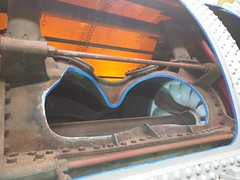 Inside turbine (Alex-Boy) Tags: canada dam columbia british hydroelectric bchydro hydroelectricity