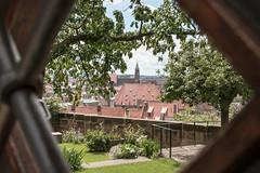 Sebalduskirche Nrnberg (Sonne 2208) Tags: kirche ausblick nrnberg durchblick sebalduskirche