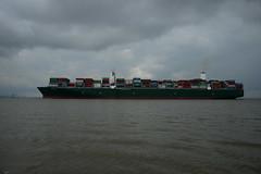 Triton (DST_9560) (larry_antwerp) Tags: costamare container triton 9728916 antwerp antwerpen       port        belgium belgi          schip ship vessel        schelde