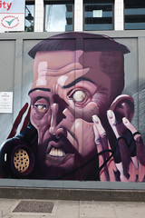 London Street Art - 0447 (system slave) Tags: uk streetart london shoreditch deformed eastend 2016 onthehone