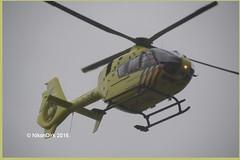 Dutch Air Ambulance PH-ULP. (NikonDirk) Tags: two holland netherlands dutch team nikon foto air nederland police ambulance helicopter medic heli mobiel eurocopter medisch ec135 politie lifeline anwb erasmusmc mmt ggd dijkzigt waard westmaas hoekse lifeliner phulp hulpverlening phelp phems phmaa phhvb phkhd phkhe phmmt nikondirk