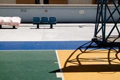 "DSCF2347 ""No ball games"" A warning sign hanging on the playground wall (Scofield Chan) Tags: playground fun hongkong folk ridiculous housing fujifilm kowloon fujinon publichousing hongkongculture xt1 choihungestate fujinon1855mm"